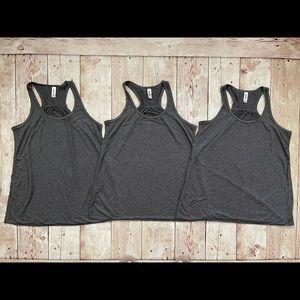 Bella Canvas Tank Top Shirt Tops Shirts Grey Gray